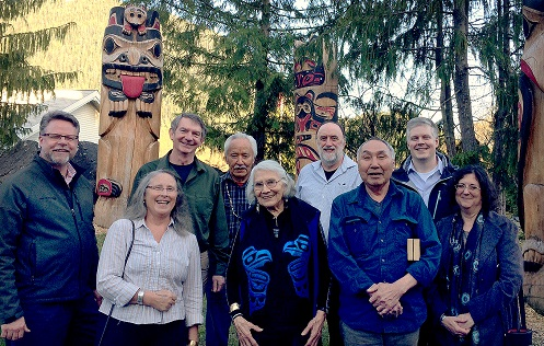 Distinguished Artists gathering in Ketchikan